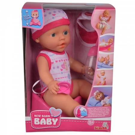 Kącik opiekunki 13 elem.+ Lalka Funkcyjna New Born Baby SMOBY