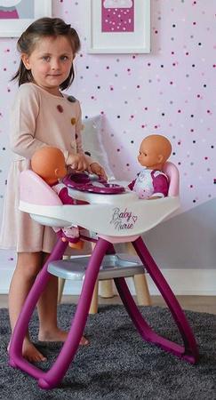 Krzesełko Do Karmienia Dla Lalek Baby Nurse Smoby