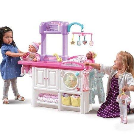 Luksusowy Przewijak dla lalek i kącik pielęgnacyjny z akcesoriami  847100 Step2
