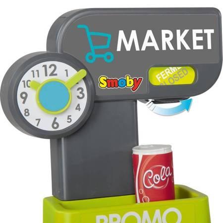 Market Elektroniczna Kasa Sklep Światło Dźwięk + Akcesoria Smoby