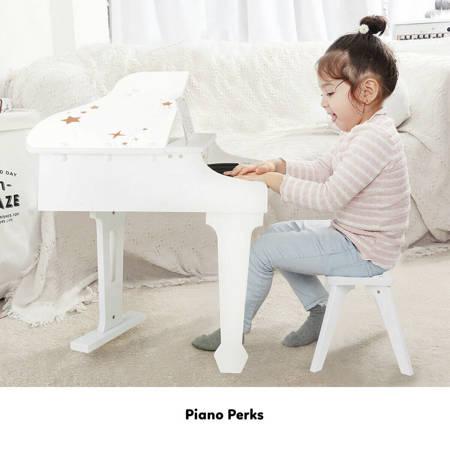 Pianino Biały Fortepian Dla Dzieci Classic World