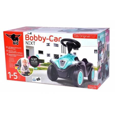 BIG Bobby Car Next Turkusowy Światła LED Klakson Jeździk