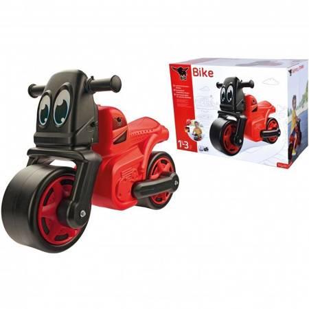 BIG Jeździk Motorek dla Dzieci Czerwony