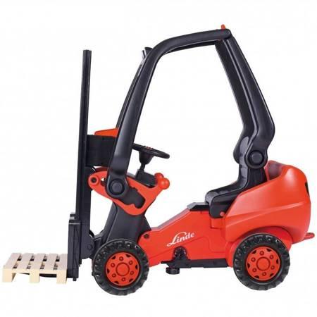 BIG Wózek Widłowy Na Pedały Linde Forklift
