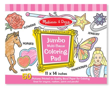 Blok Rysunkowy Kolorowanki Pink  Melissa and Doug 14225