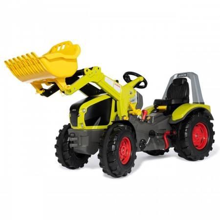 CLAAS Traktor na Pedały X-Trac Premium Łyżka Ciche Koła Rolly Toys Biegi Hamulec
