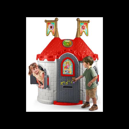 Domek Ogrodowy dla dzieci  Średniowieczny Zamek z Dźwiękiem