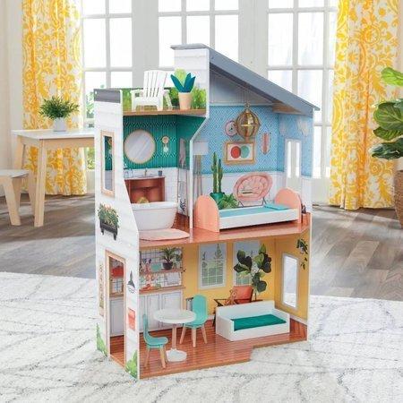 Domek dla lalek drewniany KidKraft Emily 65988