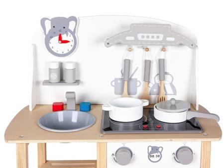 Drewniana kuchnia dla dzieci Światło i Dźwięk+ Akcesoria