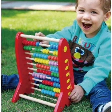 Drewniane Liczydło Edukacyjne Viga Toys