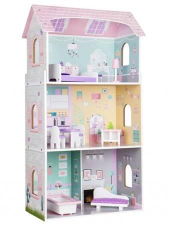 Drewniany Domek  dla lalek Blanca