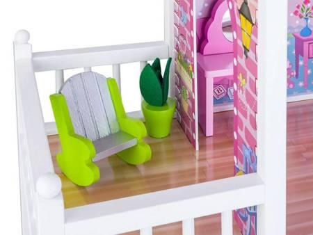 Drewniany Domek dla lalek Brenda
