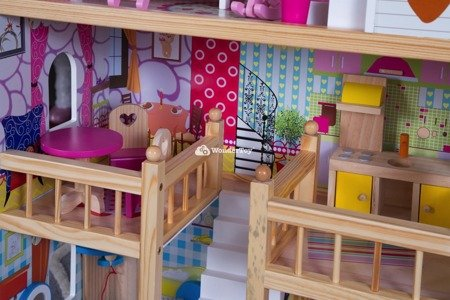 Drewniany Domek dla lalek Jane