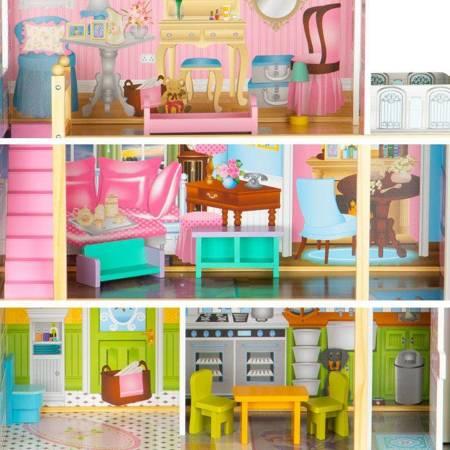 Drewniany Domek dla lalek  Laura