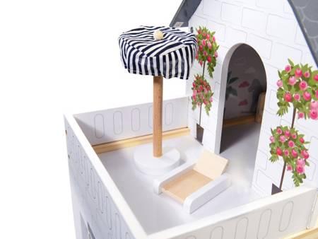 Drewniany Domek dla lalek Lilly