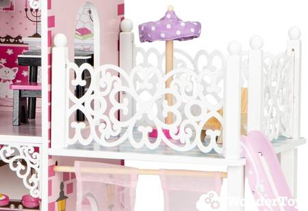 Drewniany Domek  dla lalek  Rezydencja Megan