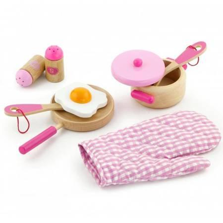 Drewniany Kuchenny Zestaw do gotowania Viga Toys