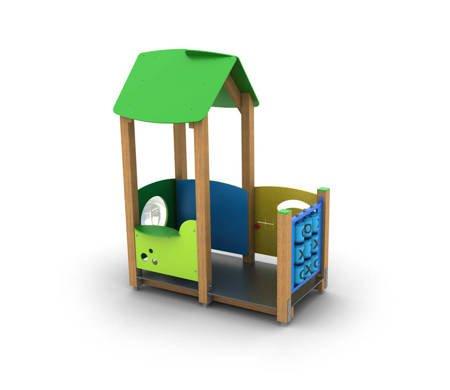Drewniany Plac Zabaw Pinokio