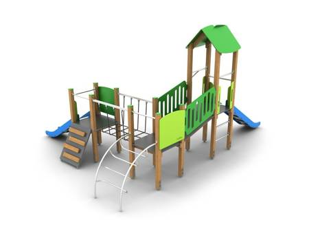 Drewniany Plac Zabaw Przygoda