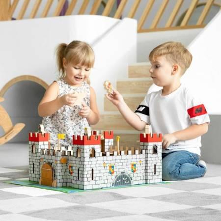 Drewniany Zamek Rycerzy Viga Toys