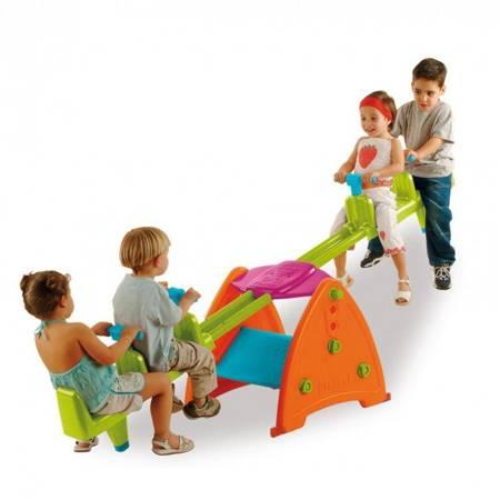 Kolorowa Huśtawka Ogrodowa dla dzieci