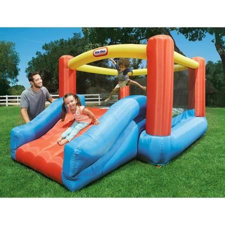 Little Tikes Dmuchany Plac Zabaw ze Zjeżdżalnią  Jr. Jump'n Slide