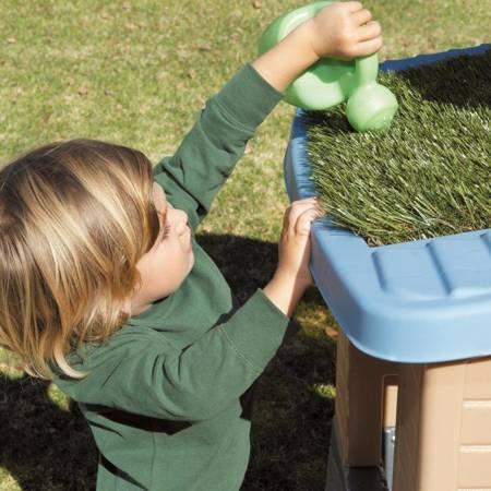 Little Tikes Domek Ogrodowy Eko Go Green Kuchnia + Ogródek