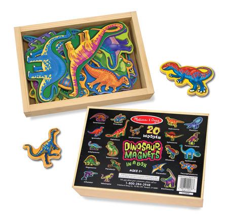 Magnesy Dinozaury  Melissa and Doug 10476