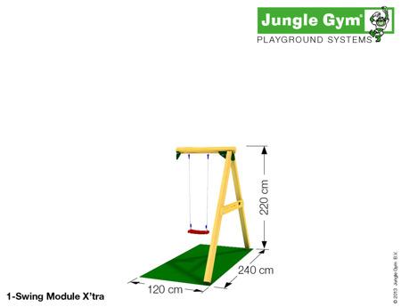 Moduł Swing Module ™ X'tra 1-miejscowy skrócony