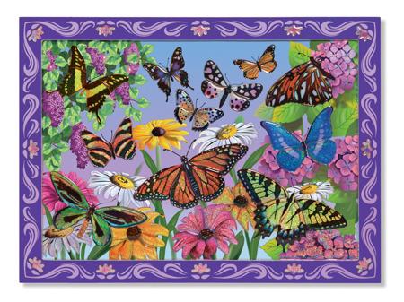 Mozaika Układanka  Kolorowe Motyle Melissa and Doug 14302 DSC