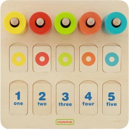 Nauka Kolorów I Liczenia Edukacyjna Tabliczka Masterkidz