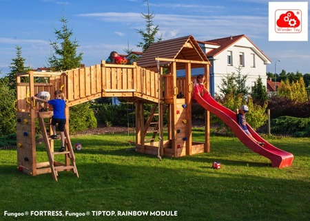Plac Zabaw rainbow Fortress Tip™ FunGoo ®