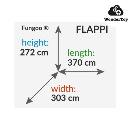 Plac zabaw Flappi Teak Valley FunGoo ®
