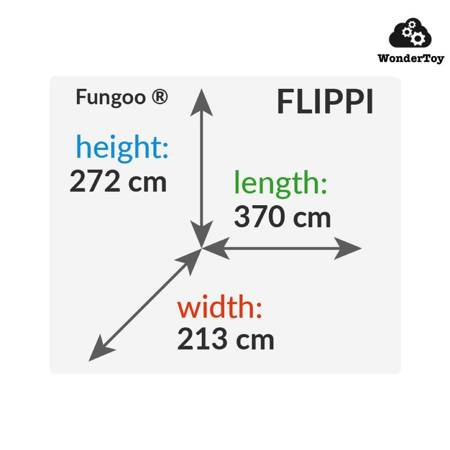 Plac zabaw Flippi Teak Foresta FunGoo ®