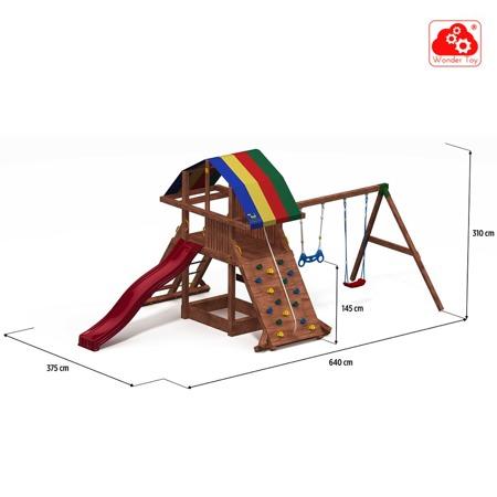 Plac zabaw Rocket Move™ FunGoo ®