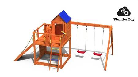 Plac zabaw Teak Treehouse FunGoo ®