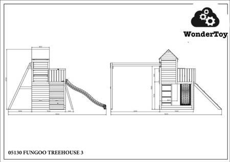 Plac zabaw Trendy Treehouse FunGoo ®