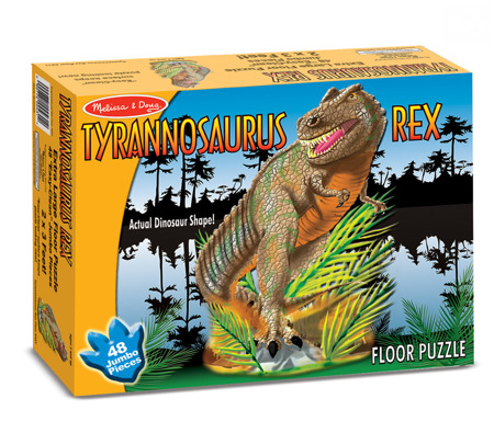 Puzzle Podłogowe Tyrannosaurus Melissa and Doug 10431