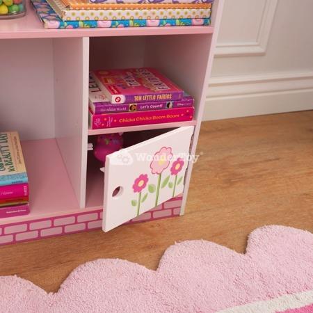 Regał z półkami - Domek dla lalek Kidkraft