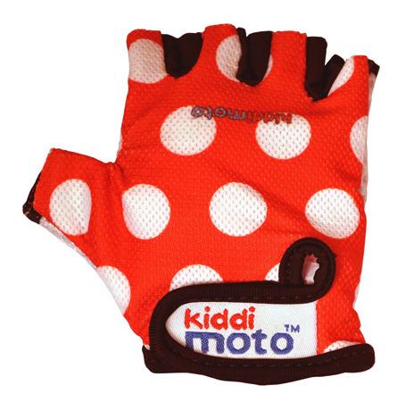 Rękawiczki ochronne Kiddimoto ® Red  Dotty