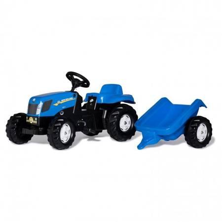 Rolly Toys rollyKid Traktor na pedały New Holland z przyczepką