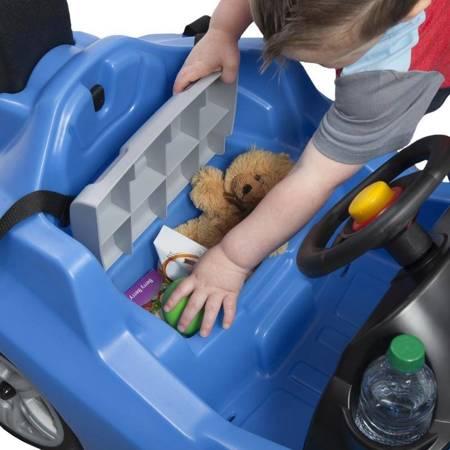 STEP2 Samochód Jeździk Whisper Ride Cruiser z Uchwytem do Prowadzenia