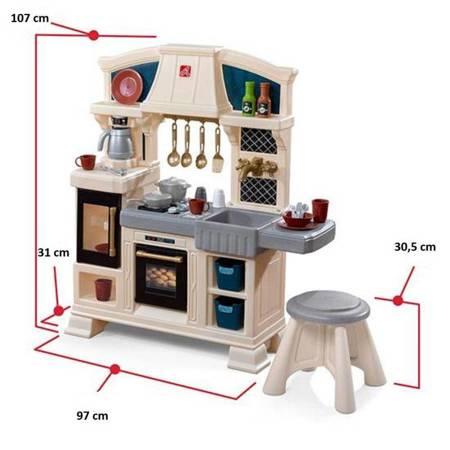 Step2 Klasyczna Kuchnia dla Dzieci + Akcesoria 29 szt
