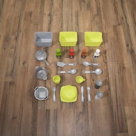 Step2 Kuchnia Miejska + Akcesoria 24 szt Światło i Dźwięk
