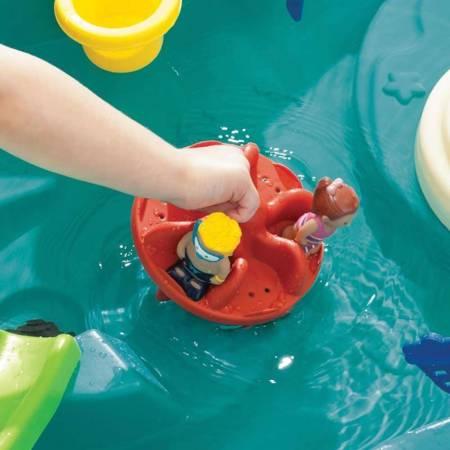 Step2 Stół Wodny z Wyspą i Akcesoriami Splish Splash Seas Water Table