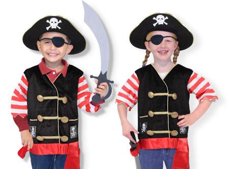 Strój Przebranie Kostium Pirat Melissa and Doug 14848