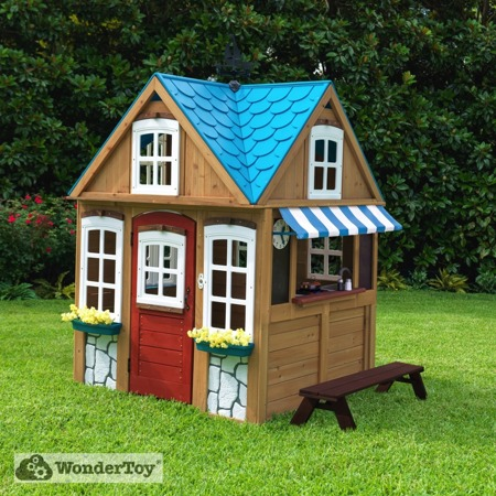 Stylowy Drewniany Domek Ogrodowy Seaside Cottage Kidkraft 00402