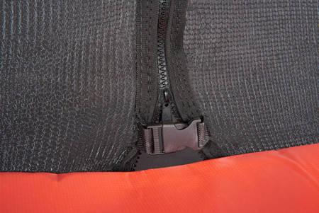 Trampolina Ogrodowa 487cm/16ft czarna Maxy Comfort Z Wewnętrzną siatką