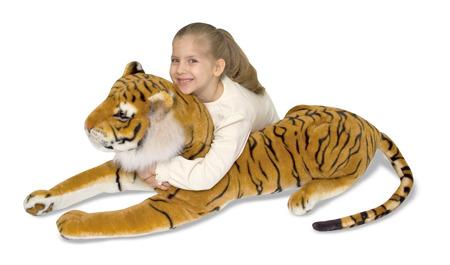 Wielki Pluszak Tygrys Melissa and Doug 12103