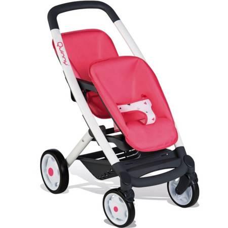 Wózek dla lalek Spacerówka dla bliźniąt Maxi Cosi Quinny Smoby